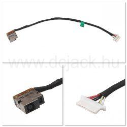 Laptop tápcsatlakozó kábel - PJC0216