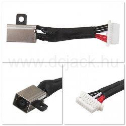 Laptop tápcsatlakozó kábel - PJC0217