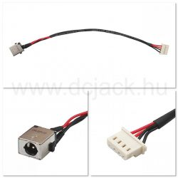 Laptop tápcsatlakozó kábel - PJC0219