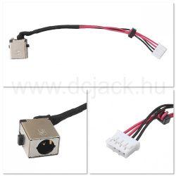 Laptop tápcsatlakozó kábel - PJC0220