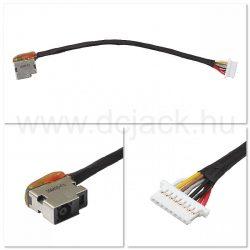Laptop tápcsatlakozó kábel - PJC0222